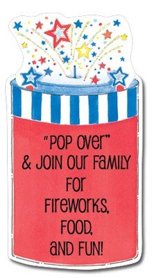 Patriotic Invitations, 4th Of July Pop!, Picture Perfect