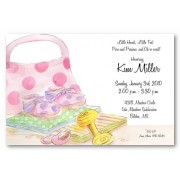 Baby Shower Invitations, Oh So Sweet, Address