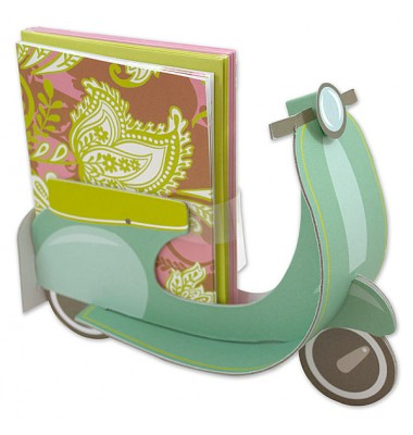 Boxed Notecards, Blue Scooter, Anna Griffin