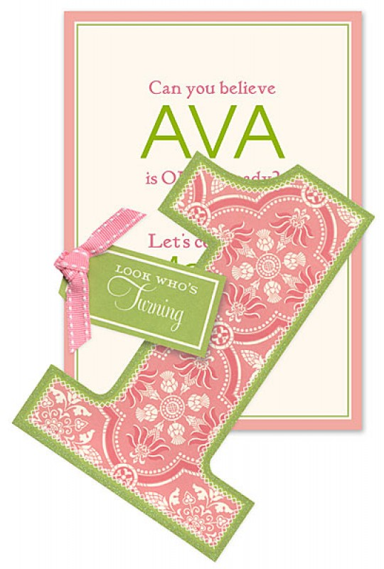 First Birthday Invitations, Looks Who Is Turning One, Anna Griffin ...