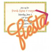 Fiesta Invitations, Glittered Fiesta, Anna Griffin