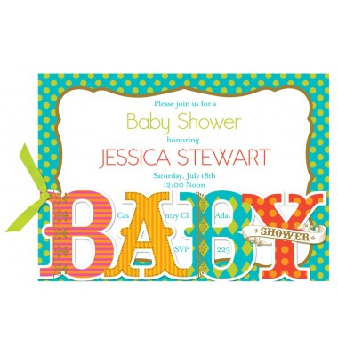 Baby Shower Invitations, BABY