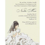 First Communion Invitations, 1st Holy Communion
