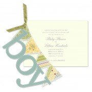 Baby Shower Invitations, Its A Boy Banner