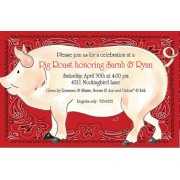BBQ Invitations, Pig Roast, Rosanne Beck