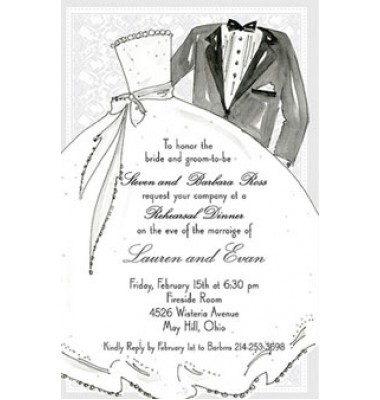 Couple Shower Invitations, Wedding Couple, Rosanne Beck