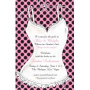Lingerie Invitations, Sexy Dots, Inviting Company