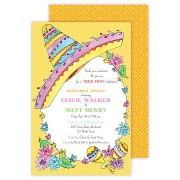 Fiesta Invitations, Sombrero, Rosanne Beck