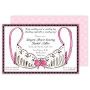 Lingerie Invitations, Pink Bra, Rosanna Beck