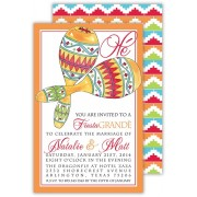 Fiesta Invitations, Maracas, Rosanne Beck