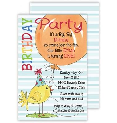 Birthday Invitations, Birthday Balloons, Rosanne Beck