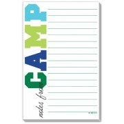Camp Stationery, Colorful Camp Blue, Rosanne Beck