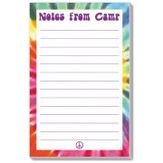 Camp Stationery, Notes From Camp Tie Dyed Blue, Rosanne Beck