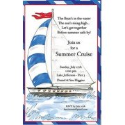 Nautical Invitations, Sail Away, Beck