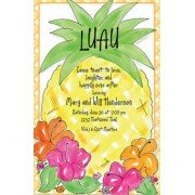 Luau Invitations, Luau, Rosanne Beck