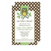 Owl Invitations, Ali Owl, Beck