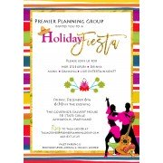 Custom Invitation, Holiday Fiesta, BeeYond Paper