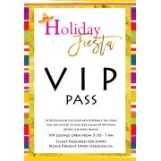 Custom Invitation, VIP Holiday Fiesta, BeeYond Paper