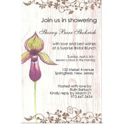 Floral Invitations, Orchid, Bella Ink