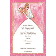 Bridal Shower Invitations, Blushing Bride, Bella Ink