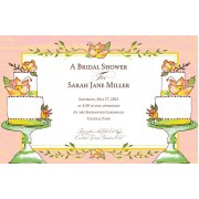 Bridal Shower Invitations, Sugar Rush, Bella Ink