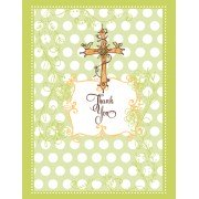 Baptism Thank You Cards, Baptism Birds, Bella Ink