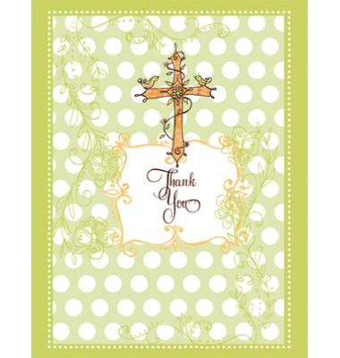 Baptism Thank You Cards, Baptism Birds, Bella Ink