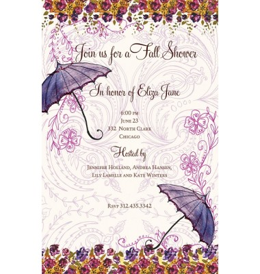 Shower Invitations, Couples Shower, Bella Ink