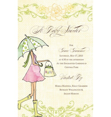 Baby Shower Invitations, Expecting Mom, Bella Ink