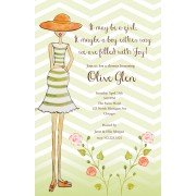 Baby Shower Invitations, Perfectly Preggers, Bella Ink