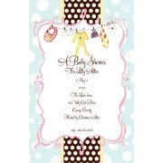 Baby Shower Invitations, Lilies Shower, Bella Ink