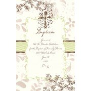 Baptism Invitations, Holy Cross, Bella Ink