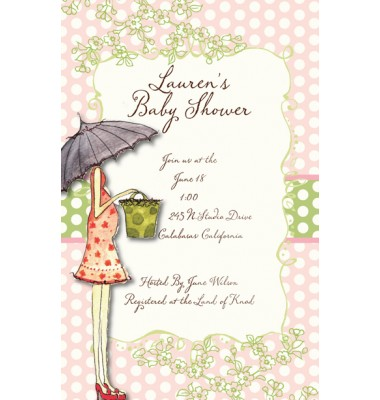 Baby Shower Invitations, Mila, Bella Ink