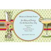 Fiesta Invitations, Cabana, Bella Ink