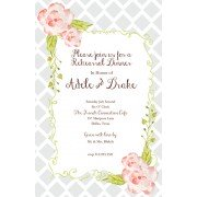 Floral Invitations, Moonlit Garden, Bella Ink