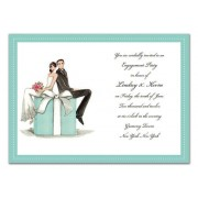 Couples Shower Invitations, Couple On A Box, Bonnie Marcus