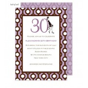 30th Birthday Invitations, Thirtieth, Bonnie Marcus