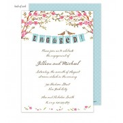 Couples Invitations, Elegant Engagement Banner