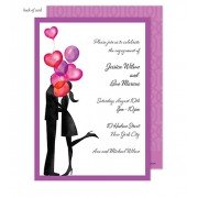 Couples Shower Invitations, Balloon Love, Bonnie Marucs