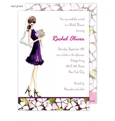 Bridal Shower Invitations, Modern Bride, Bonnie Marcus