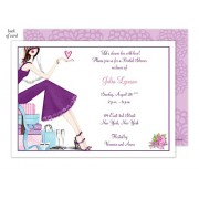 Bridal Shower Invitations, Chic Bride, Bonnie Marcus