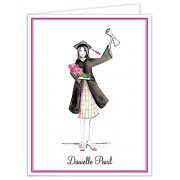 Graduation Thank You Cards, Diploma Girl, Bonnie Marcus