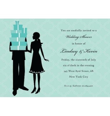 Couples Shower Invitations, Perfect Pair, Bonnie Marcus