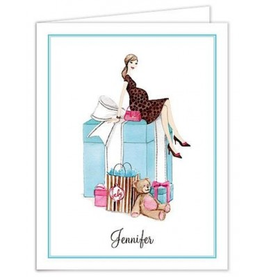 Baby Shower Thank You Cards, Baby Box