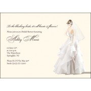 Bridal Shower Invitations, Chic Bride, Bubbls N Bows