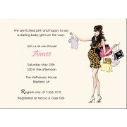 Baby Shower Invitations, Chic Shopper