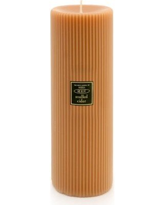 Root 3x9  Grecian Pillar Candle Mulled Cider