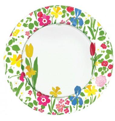 Caspari, Dinner Plate, Beatrice