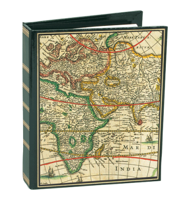 World Map Address Book
