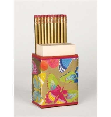 Butterfly Pencil Caddy, Caspari